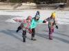 Naturtag auf dem Eis